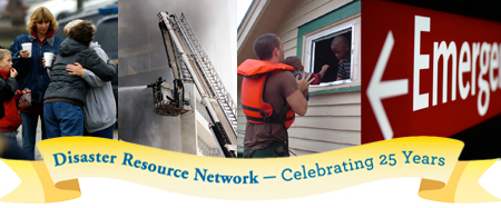 Disaster Resource Network 25th Anniversary
