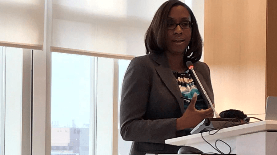 Dr. J. Nadine Gracia at Minority Mental Health Summit