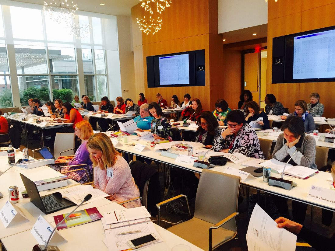 The opening session of the LIWP three-day training workshop in November took place in APA's Capitol View Conference Center