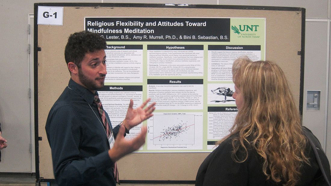 APAGS poster session at the convention