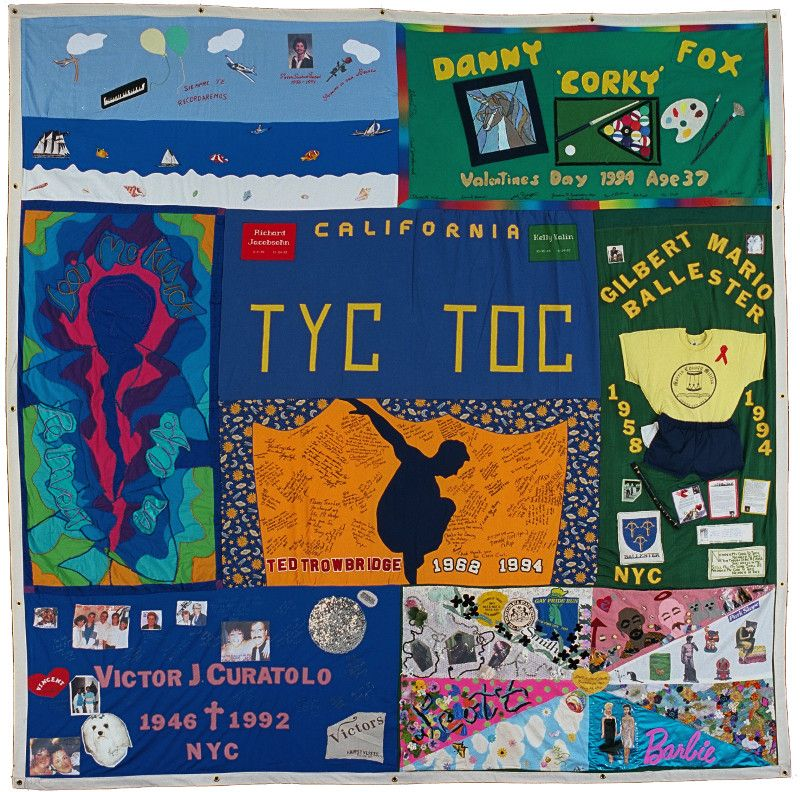 AIDS Memorial Quilt at APA