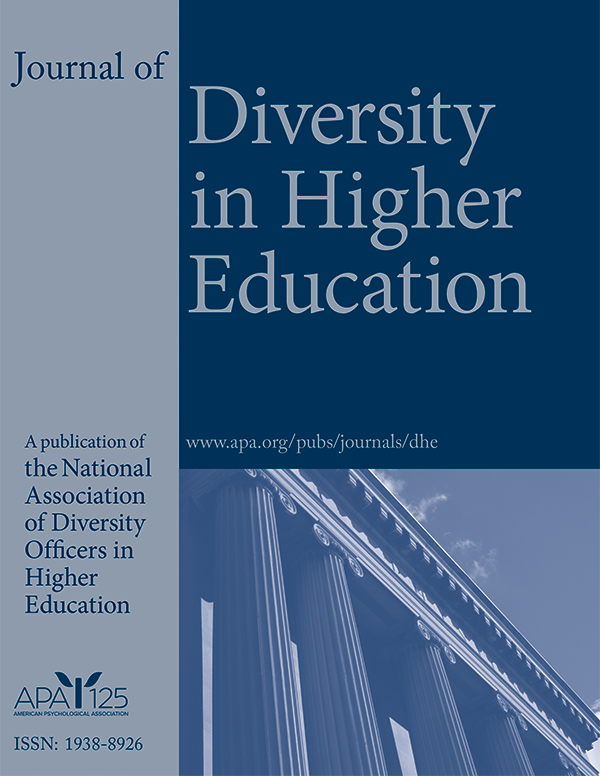 Diversity in Higher Education cover